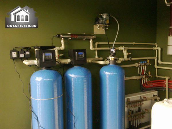 Водоподготовка в коттеджеКомплексная очистка воды для загородного дома